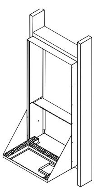 Amana HVWS958A Hurricane Rear Wall Sleeve for Amana Vertical Terminal Air Conditioner Systems (VTACs)