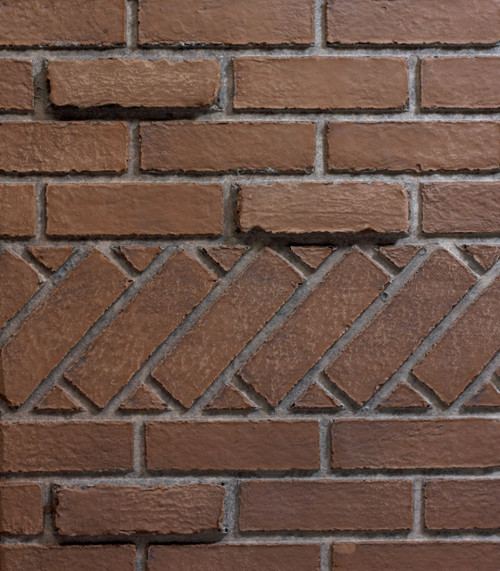 "White Mountain Hearth FPP26E 26"" Banded Brick, Ceramic Fiber Firebox Liner for Vail Firebox"