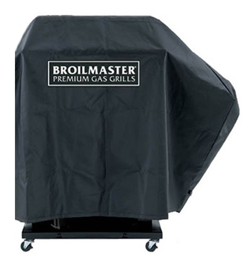 Broilmaster DPA109 Full Length Premium Grill Cover - 1 Side Shelf