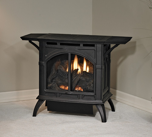 White Mountain Hearth VFD10CC30 Heritage Series Vent-Free Millivolt Stove with 10000 BTU Contour Burner