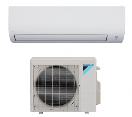 Daikin FTX09NMVJU / RXL09QMVJU 9000 BTU 20 Series Heat and Cool Single Zone Mini Split System