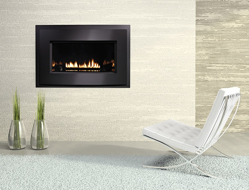 "White Mountain Hearth DVL33FP72N 33"" Medium Loft Series Direct Vent Fireplace, Natural Gas, Intermittent Pilot"