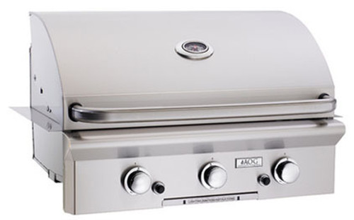 "American Outdoor Grill 30NBL 30"" Built-In Natural Gas Grill with Rotisserie"