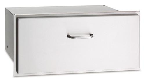 "American Outdoor Grill 13-31-SSD 30"" Single Storage Masonry Drawer"