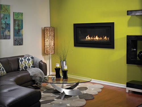 White Mountain Hearth DVLL41FP92P Boulevard Contemporary Direct Vent Fireplace - Liquid Propane