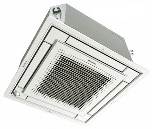 Daikin FFQ09Q2VJU 9000 BTU Ceiling Cassette Unit with White Grille - Controller Required