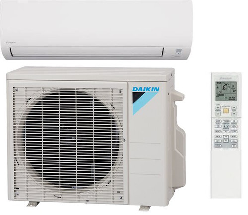 Daikin FTX09NMVJU / RX09NMVJU 19 Series 9000 BTU Heat Pump 19 SEER Single Zone Mini Split System