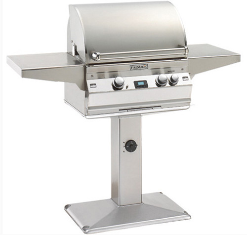 "Fire Magic A430s-5E1N-P6 Aurora 24"" Patio Post Gas Grill - Natural Gas"