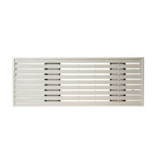 """General Electric RAG61 42"""" Architectural Exterior Rear Grille - Beige"""
