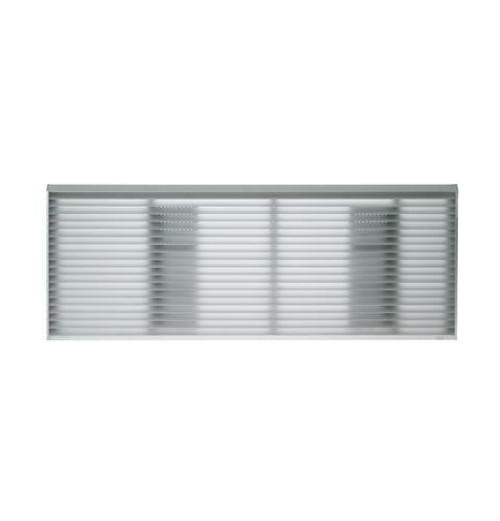 """GE RAG67 42"""" Architectural Exterior Grille - Aluminum"""
