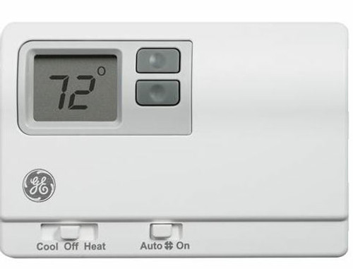 General Electric RAK148D2 Non-Programmable Digital Thermostat for Heat Pumps