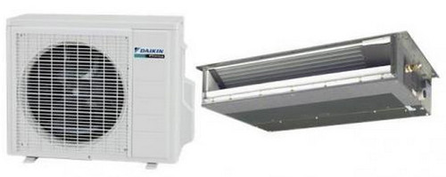 Daikin FDXS09LVJU / RXS09LVJU 9000 BTU Class Slim Duct Ceiling Heat Pump Mini Split