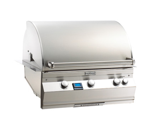 """Fire Magic A660i-6E1N Aurora 30"""" Built-In Gas Grill with Rotisserie - Natural Gas"""