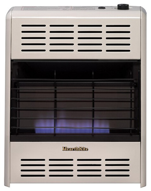 HearthRite HB20M 20000 BTU Blue Flame Vent Free Gas Heater