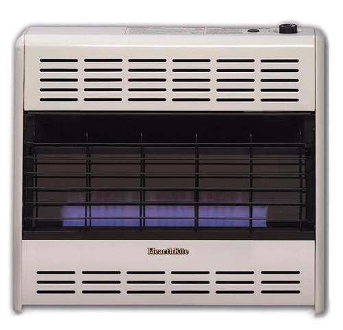 HearthRite HB30M 30000 BTU Blue Flame Vent Free Gas Heater