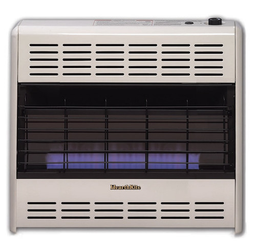 HearthRite HB30M 30000 BTU Blue Flame Vent Free Gas Heater