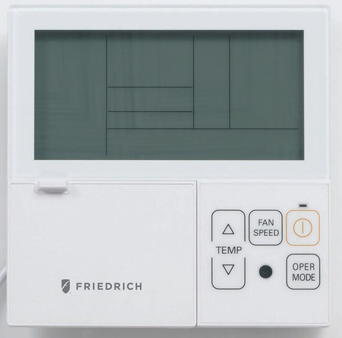 Friedrich DWC-2 Digital Programmable Wired Wall Thermostat