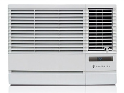 Friedrich EP12G33B 11500/12000 BTU Chill Plus Window Air Conditioner with Electric Heat - 208/230 Volt