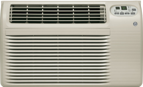 GE AJEQ10DCF 9900/10100 BTU Thru-the-Wall Room Air Conditioner with Electric Heat - 208/230 Volt