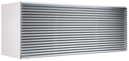 Friedrich PXAA Clear Extruded Aluminum Architectural Grille for PTAC Air Conditioners