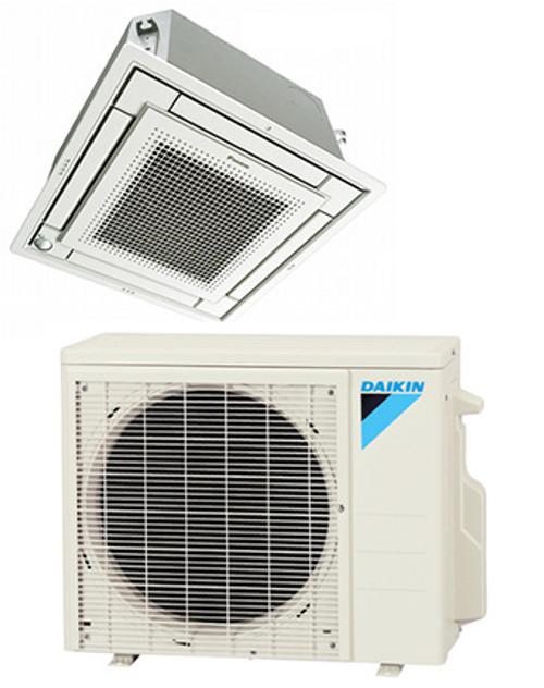 Daikin FFQ09Q2VJU / RX09RMVJU 9000 BTU Vista Series Ceiling Cassette Heat Pump System