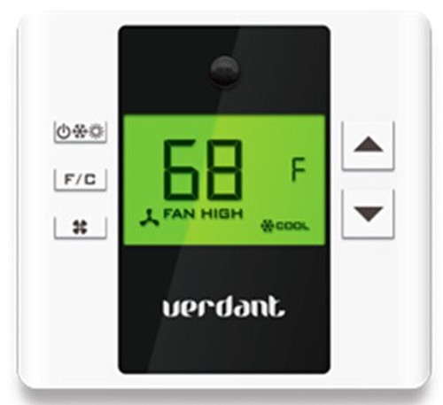 LG PYRCVDWL2 Programmable Wireless Thermostat with Motion and IR Sensor for PTACs