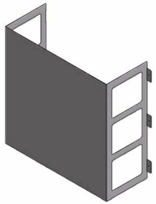LG ZLABGP02A Low Ambient Wind Baffle Kit