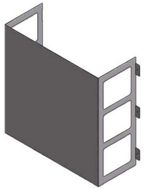 LG ZLABGP04A Low Ambient Wind Baffle Kit