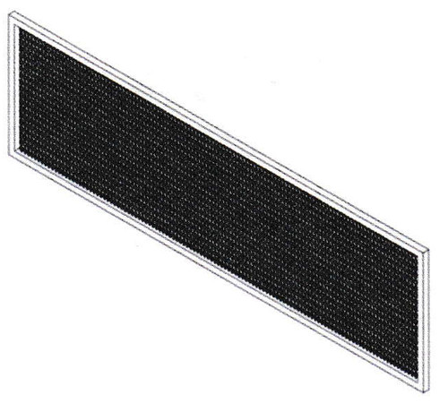 Mars HV2-FLTR Aluminum Mesh Filter for High Velocity Air Curtains