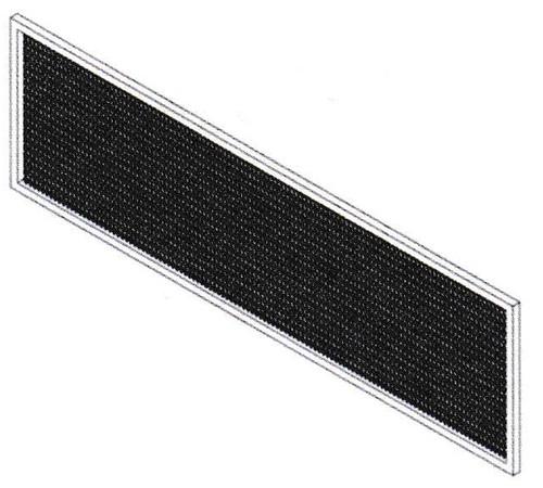 Mars LP2-FLTR Aluminum Mesh Filter for LoPro Air Curtains
