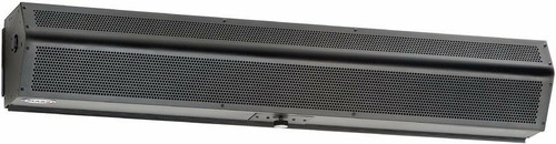 Mars Air Systems LoPro 2 Heated Air Curtain, 460 Volt, Black