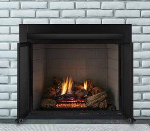 """Monessen LCUF32CR-B 32"""" Vent-Free Lo-Rider Clean Face Firebox with Standard Liner"""