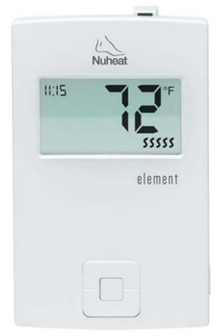 Nuheat ELEMENT Non-Programmable Thermostat