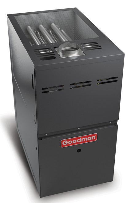 Goodman GME80603BN 60000 BTU, 80% AFUE Two-Stage Convertible Gas Furnace