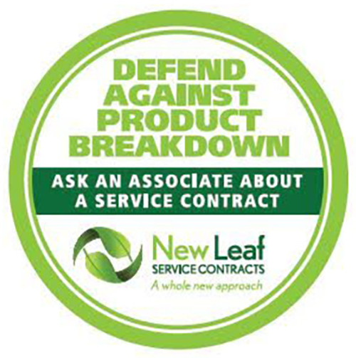 New Leaf CAPP3U7500 3 Year Extended Service Warranty for Major Appliances/Commercial Use - Terms and Conditions Apply