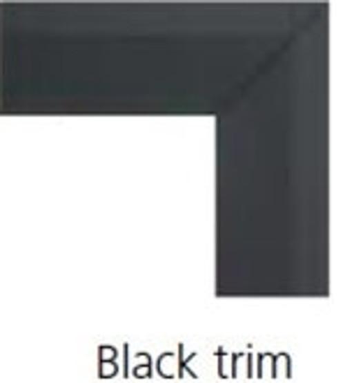 """Monessen BLMTK32C Trim Kit for 32"""" Firebox - Black"""