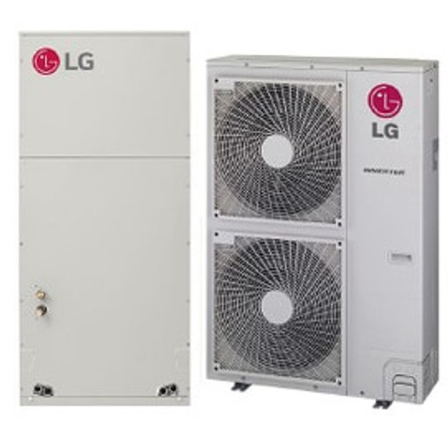 LG LV420HV 42000 BTU Single Zone Mini-Split System with Multi-Position Air Handler - Heat and Cool