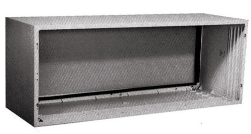 "GE RAB77B Fiberglass Reinforced Polyester Compound Wall Sleeve for 42"" Zoneline PTAC Air Conditioners"
