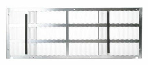 "GE RAG60 42"" Stamped Aluminum Exterior Rear Grille"