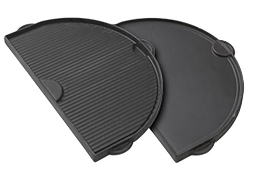 Primo PRM362 Half-Moon Cast Iron Griddle for Oval 200 Series Grill