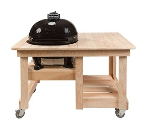 Primo PRM613 Counter Top Table for Oval 300 Series Grill