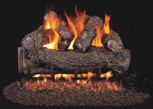 """RH Peterson Real-Fyre FO-24 24"""" Forest Oak Designer Vented Log Set"""