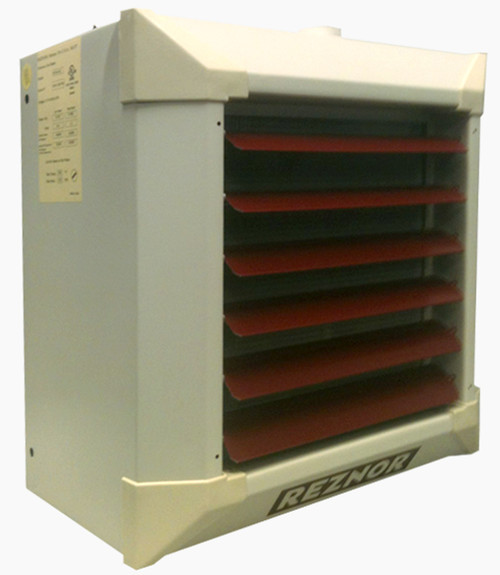 Reznor WS96/120-HA12 Horizontal/Vertical Suspended Hydronic Unit Heater 115V, for Steam Use