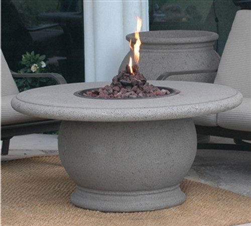 American Fyre  610CB11V2PC Amphora Round Fire Table