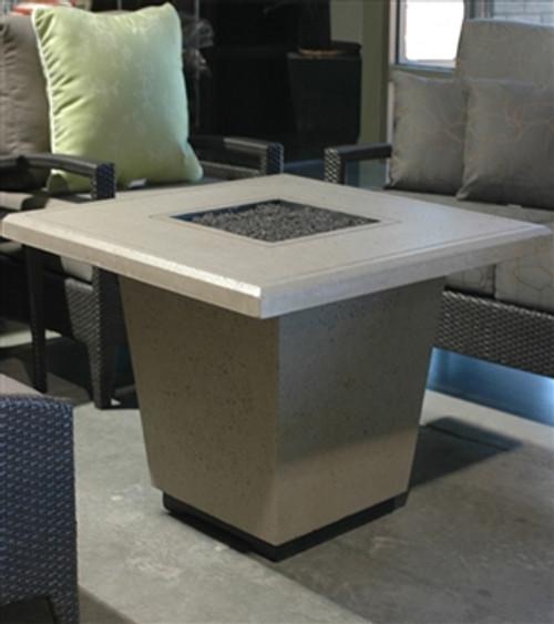 American Fyre Designs 640BA11V2PC Cosmopolitan Square Fire Table