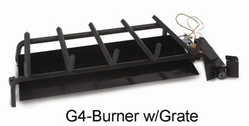 "RH Peterson Real-Fyre G4-24 24"" Glowing Ember Vented Burner - Natural Gas"