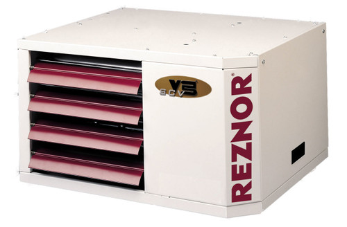 Reznor UDAS-125 120,000 BTU V3 Vent Gas Fired Separated Combustion Unit Heater