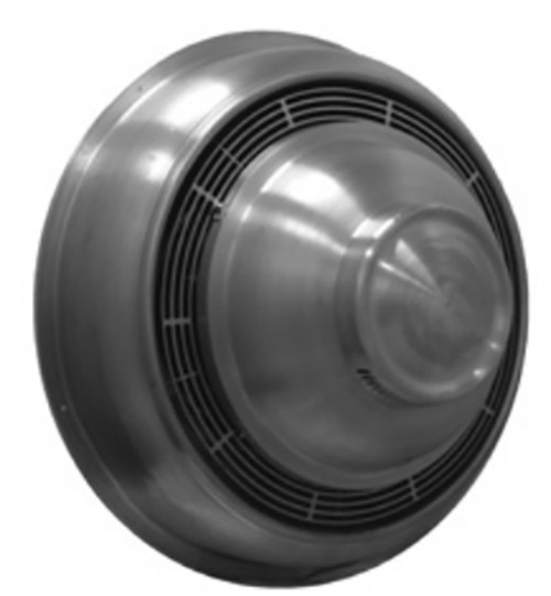 """S & P CWD10PH1AS Direct Drive Centrifugal Sidewall Exhauster - 10"""" Wheel, 115 Volt"""