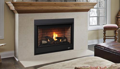 "Superior DRT2033TEP 33"" Direct Vent Fireplace, Top Vent Merit Series"