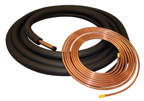 "THS LS507838 50 Foot Insulated Line Set for Central Air Systems - 3/8"" x 7/8"""
